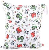 "Panda Superstore Funny Chicken Wet Bags Waterproof Diaper Bag Multi-function Nappy Bag-14""*11"""