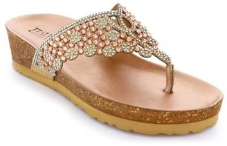Italian Shoemakers Malena Wedge Sandal
