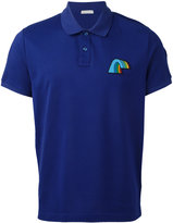 Moncler rainbow detail polo shirt - men - Cotton - S