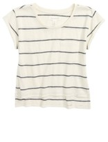 Treasure & Bond Girl's Stripe Knit Tee
