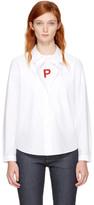 A.P.C. White Mademoiselle Shirt