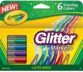 Crayola 6-pk. Glitter Markers