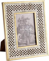 "Mela Artisans Natural Bone Ivory Chantilly Frame (4"" x 6"")"