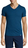 Orlebar Brown V-Neck Short-Sleeve Jersey T-Shirt, Denim Pigment