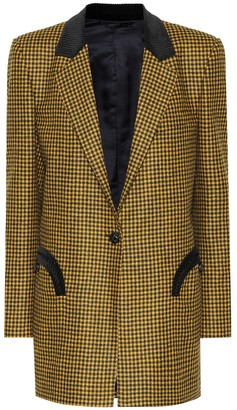 BLAZÉ MILANO Timeless checked wool blazer