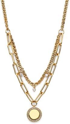 AJOA Lynx Layered Pendant Necklace