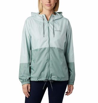 Columbia Women's Plus Size Flash Forward Windbreaker Water & Stain Resistant