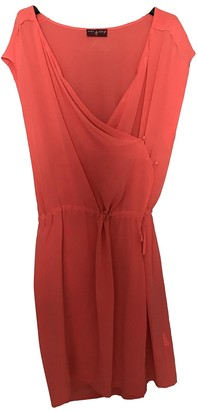 One Step Pink Silk Dress for Women