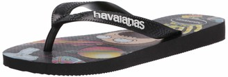 Havaianas Men's Top Rick and Morty Flip Flop Sandal