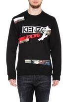 Kenzo Paris Broken Camo Sweatshirt