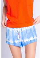 Thumbnail for your product : PJ Salvage Sail Away Tie Dye Short, Bright Blue Large