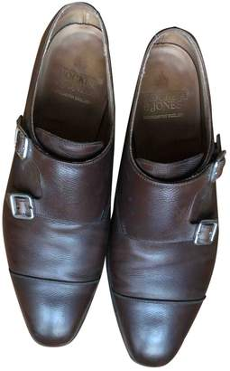 Crockett Jones Crockett& Jones Brown Leather Lace ups