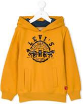 Levi's Kids printed hoodie