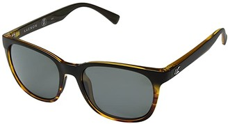 Kaenon Calafia (Matte Black/Tortoise/Grey 12 Polarized) Sport Sunglasses