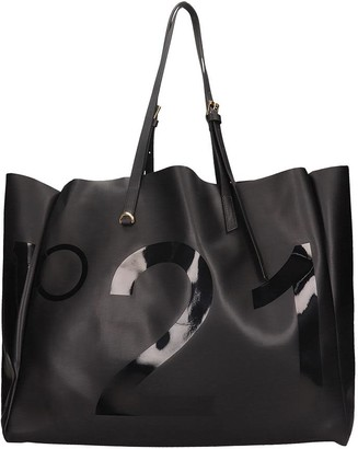 N°21 N.21 Tote In Black Leather