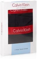 Calvin Klein Boys' Boxer Briefs, 2 Pack