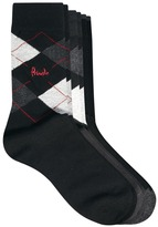 Pringle Argyle 3 Pack Socks