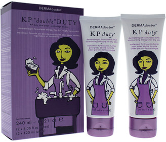Dermadoctor 8.2Oz 2Pc Kp Double Duty Dermatologist Aha Moisturizing Therapy