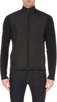 Michael Kors Contrast-detail Shell And Knitted Jacket - For Men