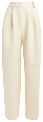 MARK KENLY DOMINO TAN Padmina Wide-Leg Trousers