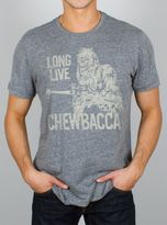 Junk Food Clothing Long Live Chewbacca Tee-steel-s