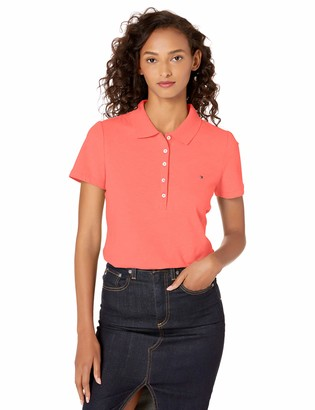 Tommy Hilfiger Women's Legacy Short Sleeve Polo (Standard and Plus Size)