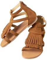 Crazy 8 Fringe Sandals