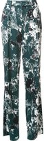 Ungaro floral print straight trousers