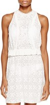 Shoshanna Embroidered Dress Swim Cover Up