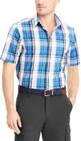 Chaps Men's Classic-Fit Easy-Care Woven Button-Down Shirt