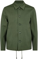 Stutterheim Slussen Dark Green Waterproof Cotton Jacket