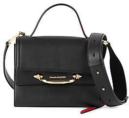 Alexander McQueen Women's Small The Story Leather Satchel