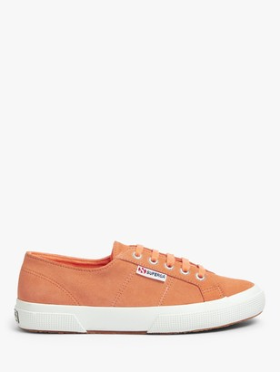 Superga Cotu Suede Trainers, Orange