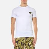 Versace Men's Small Logo Basic T-Shirt