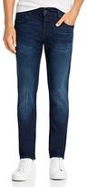 True Religion Rocco No Flap Slim Fit Jeans in Dald Dark Passage
