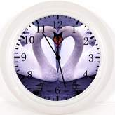 """Ikea New Swan Wall Clock 10"""" Will Be Nice Gift and Room Wall Decor Y88"""