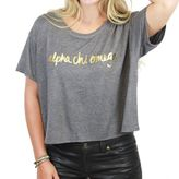 Dormify DFY by Sorority Scripted Boxy Tee