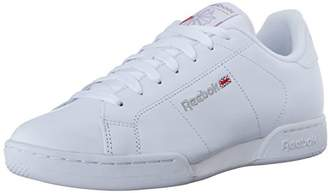 Reebok Men's Npc Ii Low-Top Sneakers, White/Light Grey