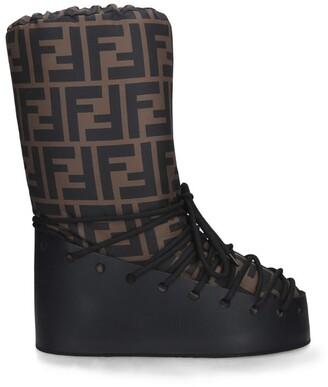 Fendi Fun Fur Snow Boots