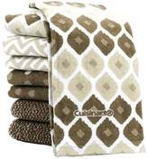 Cuisinart Kitchen Towels 8 Pack Assorted Colors (Taupe)