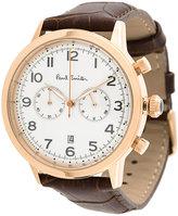 Paul By Paul Smith embossed bracelet watch