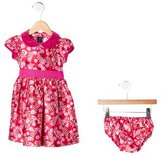 Oscar de la Renta Girls' Floral Print Dress Set w/ Tags