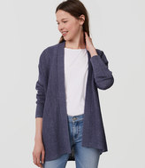 LOFT Relaxed Open Cardigan