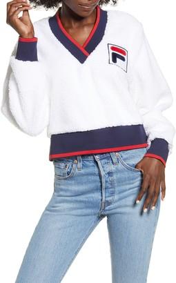 Fila Sylvia Crop Fleece Sweatshirt