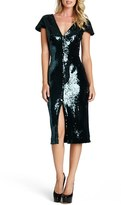 Dress the Population 'Elizabeth' Sequin Body-Con Midi Dress
