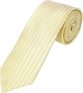 Oxford Silk Tie Stripe Reg Yllw