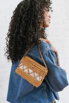 Urban Outfitters Straw Structured Crossbody Bag