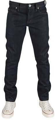 The Unbranded Brand Tight Fit 21 oz Heavyweight Selvedge Denim in Indigo (Indigo) Men's Jeans