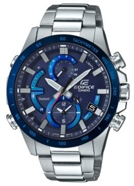 G-Shock Edifice Men's Solar Stainless Steel Bracelet Watch 42mm
