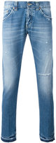 Dondup faded straight-leg jeans - men - Cotton/Polyester - 30